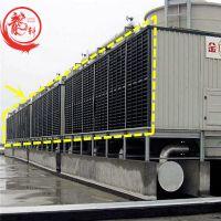 方形横流塔PVC顺风板 冷却塔PVC百叶窗——河北龙轩