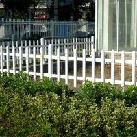 PVC护栏厂家 小区围墙护栏 庭院围墙栏杆