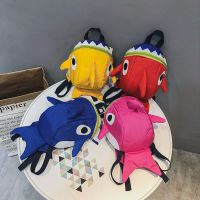 幼儿园书包儿童防走失包小鲨鱼宝宝双肩背包1-3-5男童女童小包包
