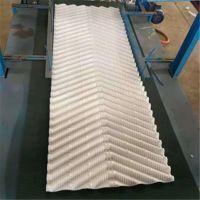 S型瓷白冷却塔填料 双曲线专用填料 S波PVC材质 品牌华庆