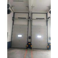 山东地区专供滑升门 工业提升门 聚氨酯发泡厂房门 垂直提升门免费安装
