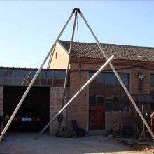 三角架立杆机价格,独角抱杆立杆批发,市政工程施工;市政工程施工电杆立杆机,用于吊装架杆立杆机 洪涛