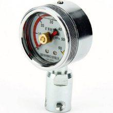 矿用耐震压力表 耐震矿用记忆压力表BZY-60
