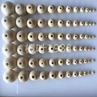 原木荷木珠 散珠本色 禾木珠圆球 DIY饰品配件 大量现货定制批发