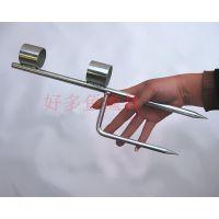 厂家直销专用地插鸟网杆加强网竿坚固耐用可批发缃戞潌