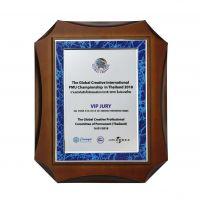 美的销售授权证书木牌,优秀经销商木托奖牌,深圳木牌厂家定制,一个起订