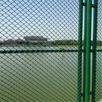 球场护栏高度 勾花包塑铁丝网 操场围网护栏厂家