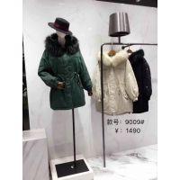 天津品牌折扣女装厂家批发剪标服装货源