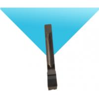 钛合金叶盘开槽专用华菱PCD刀片槽刀【高精度叶盘开槽刀具立方氮化硼CBN刀具】
