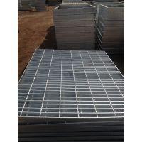 陕西西安水泥化工厂平台专用镀锌钢格栅@走道板网格栅板@楼梯踏步板