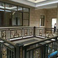 高档雕刻铝合金楼梯扶手订做加工