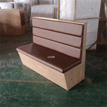 益阳定做卡座沙发的工厂,时尚拉扣板式火锅店卡座沙发订制