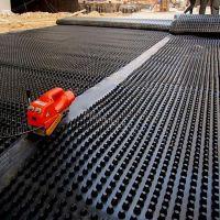 塑料夹层板排水板 防穿刺蓄排水板 车库蓄排水板价格