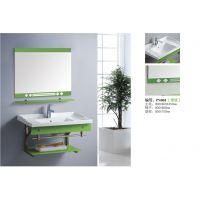 生产批发贴牌卫生80尺寸浴室柜洗脸台梳妆台不锈钢支架柜