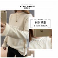 冬季女士毛衣大朗工厂处理几元针织女士上衣2018新款羊毛衫便宜批发