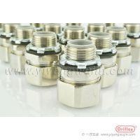 上海Driflex铜镀镍直接头, 2寸电缆软管接头, 机加工特制接头