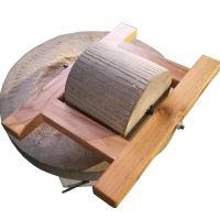 观赏型石碾 石磨 优质耐磨多用途电动石碾粉碎机