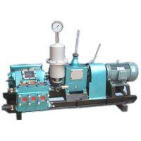 东硕机械供应卧式三缸往复单作用活塞泵BW150泥浆泵