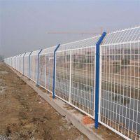 陕西隔离栅网 西安双边丝护栏网 公路铁丝网围栏网