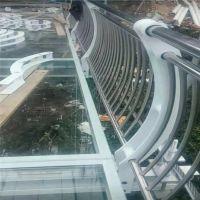 耀荣 华西村玻璃吊桥不锈钢防护栏 优质玻璃栈道栏杆 新款定制