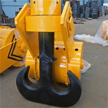 专业生产 大吨位起重机吊钩组 80T半封闭双梁吊钩组 电动葫芦下钩 低价供应