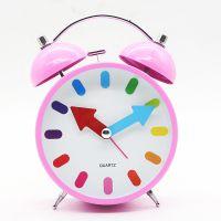 静音闹钟创意学生儿童小闹钟闹表欧式座钟客厅床头时钟石英钟