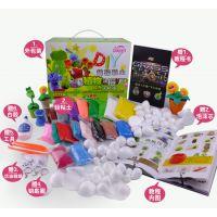 植物大战僵尸超轻粘土diy制作儿童手工礼物礼盒玩具全套彩泥手办
