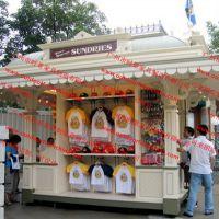 点心可移动销售促销广场糖水摊位车 平和售货亭售货车小卖部定做