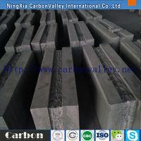 真密度1.9 抗渗透抗氧化 宁夏半石墨炭砖 400*400 可根据客户要求加工各种型号
