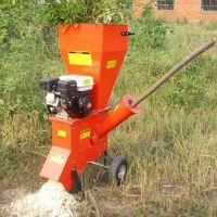 热销供应园林碎枝机 手推汽油柴油杂木粉碎机
