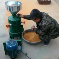 小型稻子去皮碾米机 五谷杂粮脱皮机型号 圣鲁牌自动小麦去皮机