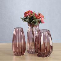 HOLY人工吹制色料玻璃多款式花瓶