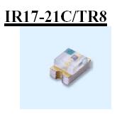 亿光 0805贴片红外发射管IR17-21C/TR8
