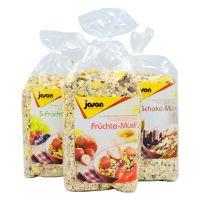 德国进口 Jason捷森五种水果营养麦片1000g 进口麦片 代餐食品