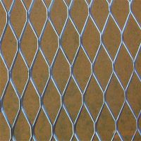 厂家定做美观大气造型别致耐用装饰铁丝网、冲孔网菱形装饰金属网