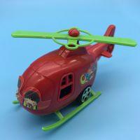海陆空组合回力车 飞机+警车+军舰套装玩具车