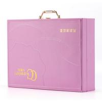 广州厂家专业定制直销皮盒 礼品原液盒 皮革包装化妆盒 免费设计