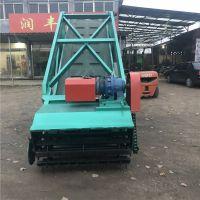 可以升降的青贮取料机 牛羊草料装取机 高低可定青贮取料机