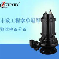 qw污潜泵50WQ15-30-3kw吸污水泵