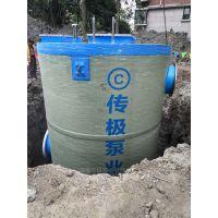 2、湖南传极泵业一体化预制泵站占地少工期短高效环保节约成本