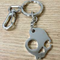 骷髅头钥匙扣链子吊坠吊饰 金属五金合金东莞厂家定做订制制作