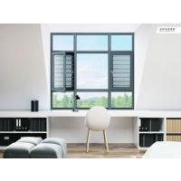广东兴发铝业帕克斯顿门窗系统平开带纱一体窗系统|整套窗