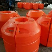 海上塑料管道浮筒是怎么安装的