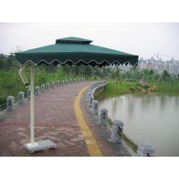 厂家供应洛阳水上世界铝架中柱伞,河南旅游区铝架香蕉伞 广告伞