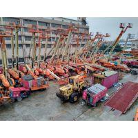 广州天河出租10米~41米柴油直臂高空车
