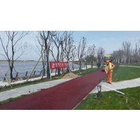 安庆市坤杰彩色路面喷涂施工 黑色沥青改色