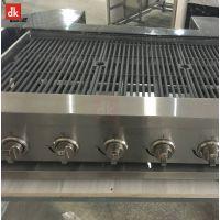 迪克不锈钢商用烧烤炉大号电热烧烤炉加宽电烤炉无烟烤肉机