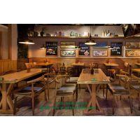 大理石电磁炉火锅桌 自助火锅桌椅组合 简约现代