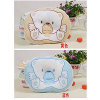 龙琦贝贝婴儿枕头 新生婴儿定型枕 纠正偏头 宝宝毛巾枕