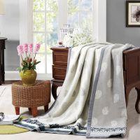 山东威海恒泰毛毯厂长期直供批发供应直销水星罗莱提花羊毛毯